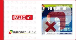 """Luis Arce no ofreció el """"tri bono de ayuda"""" durante su campaña, los reclamos en redes no tienen fundamento"""
