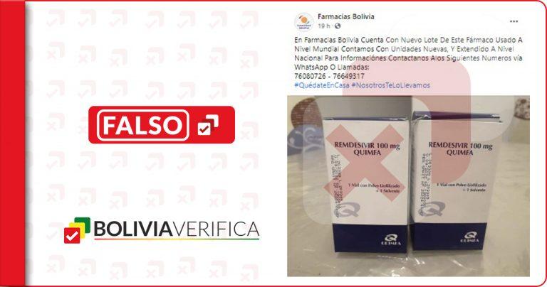 ¡Atención! Estafadores utilizan el nombre de Farmacias Bolivia para engañar a la ciudadanía