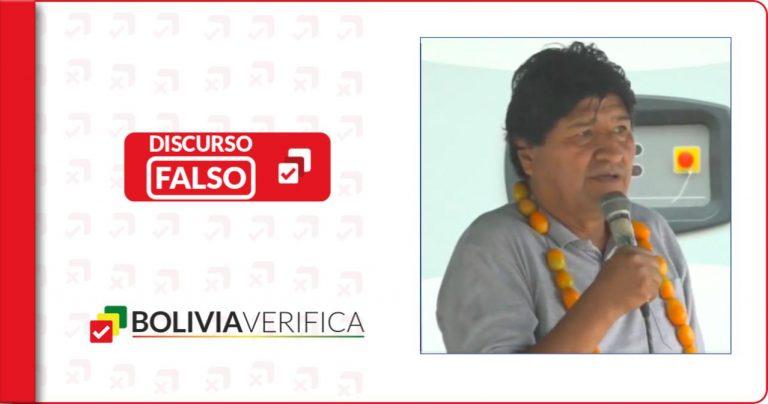 """Al menos por sexta vez, Evo Morales indica públicamente que la Covid-19 es una """"guerra biológica"""""""