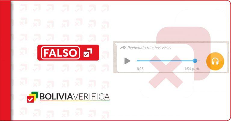 Audio grabado en Bolivia con desinformación sobre vacunas se viraliza en WhatsApp