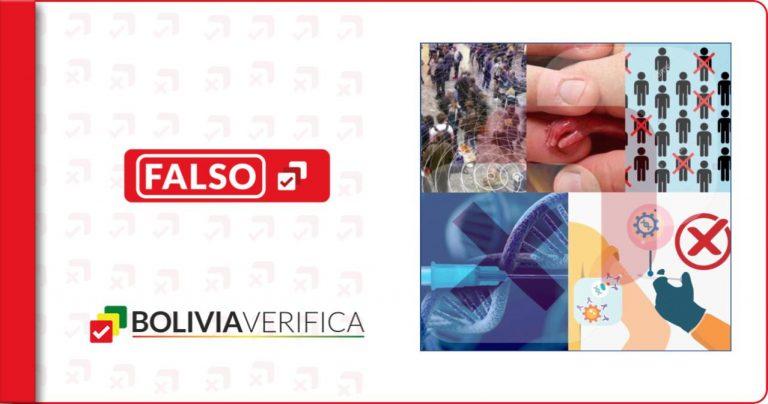 Las cuatro teorías conspirativas antivacunas más virales en Bolivia