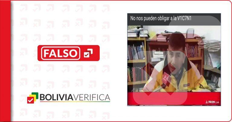 """Las vacunas contra la Covid-19 no son """"experimentales"""", como dice un abogado en Tarija"""