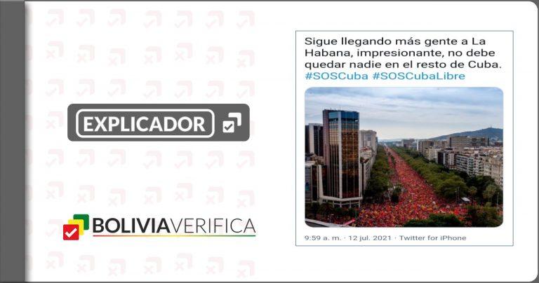 11 desinformaciones que giraron en torno al conflicto de Cuba