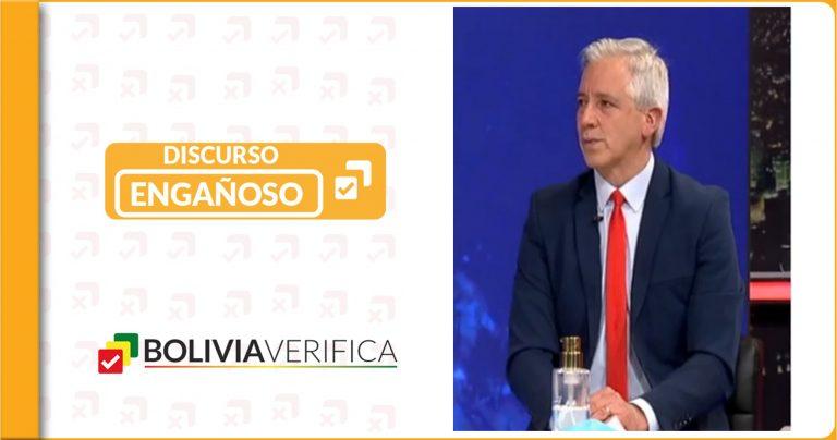 García Linera afirma que coordinó renuncia de Salvatierra desde México