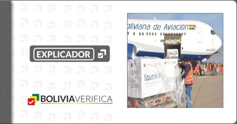 Vacunas anticovid: 6.051.050 dosis llegaron a Bolivia en 19 vuelos