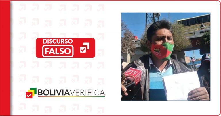 """No se encontró la """"cura"""" de la COVID-19 en 2020 como afirma cívico de El Alto"""