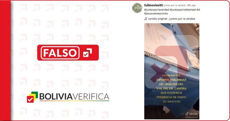 Informe sobre óxido de grafeno en suspensión acuosa no tiene aval de la Universidad de Almería