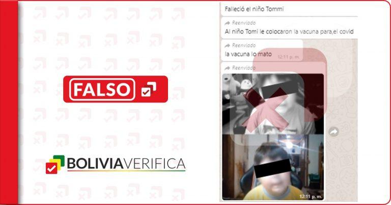 El niño youtuber Tomiii 11 no falleció a causa de la vacuna contra el coronavirus