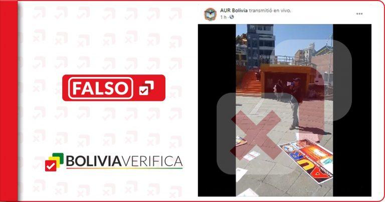 Grupo AUR llegó a El Alto a difundir mentiras sobre las vacunas contra la COVID-19