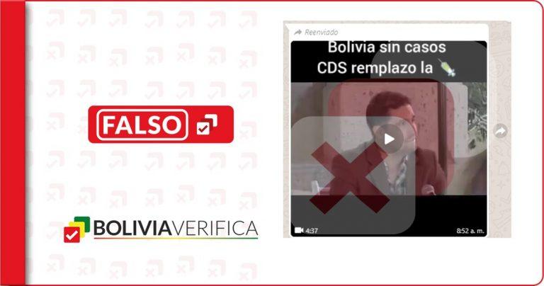 No es verdad que San José de Chiquitos no tiene casos de COVID-19 gracias al dióxido de cloro