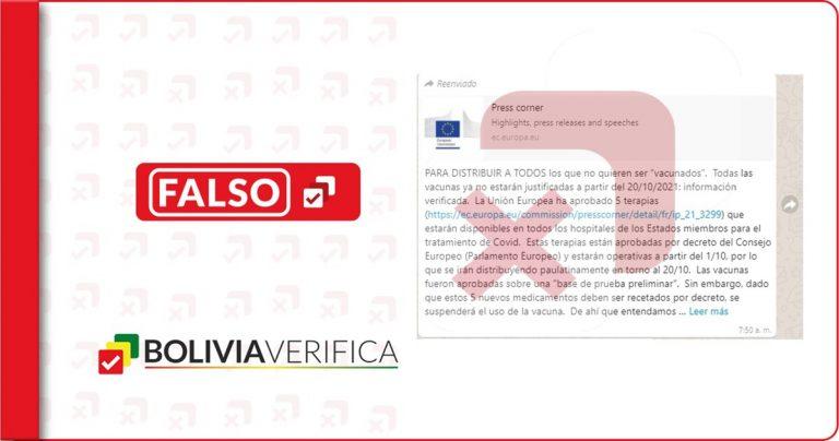 La UE no comunicó que suspenderá en octubre el uso de las vacunas anticovid