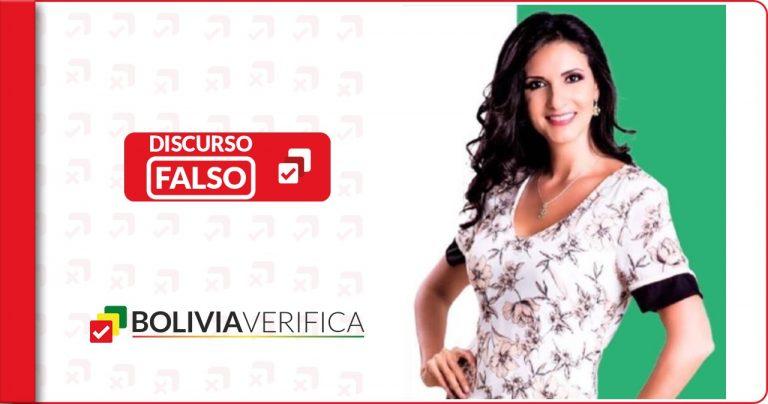 Tres datos falsos emitidos por la presentadora de televisión Karla Revollo