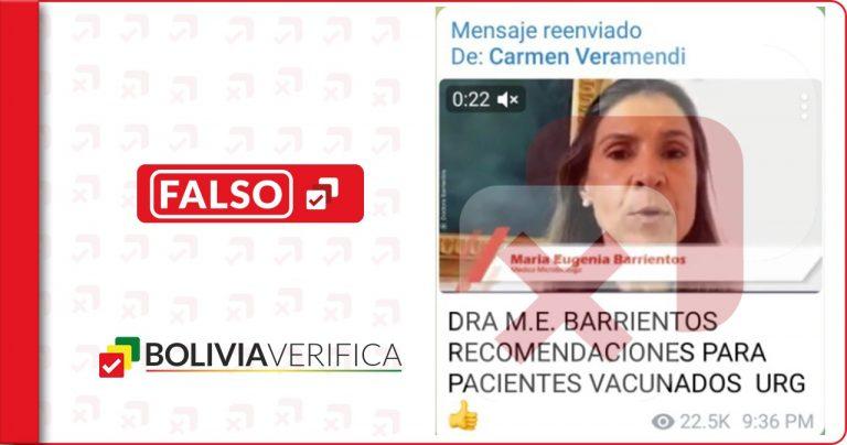 No es necesario que te hagas exámenes médicos después de vacunarte contra el coronavirus