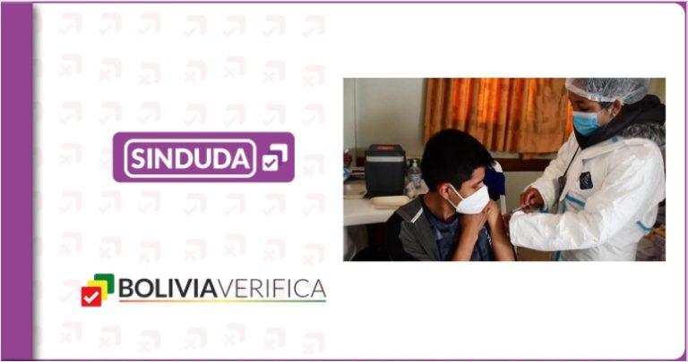 ¿Qué vacuna recibirán los jóvenes de 16 y 17 años en Bolivia?
