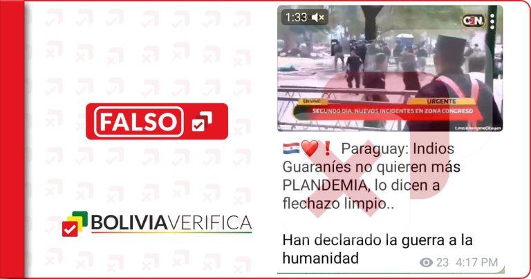 Indígenas paraguayos no protestaron contra la pandemia por coronavirus