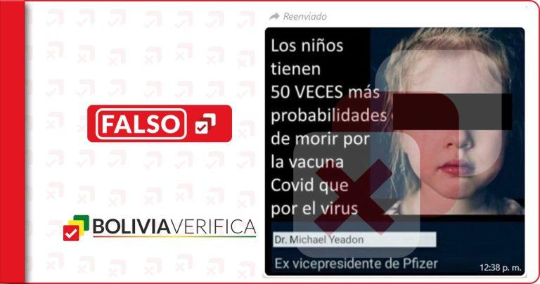 Las vacunas contra la COVID-19 no generan riesgo de muerte en niños y adolescentes