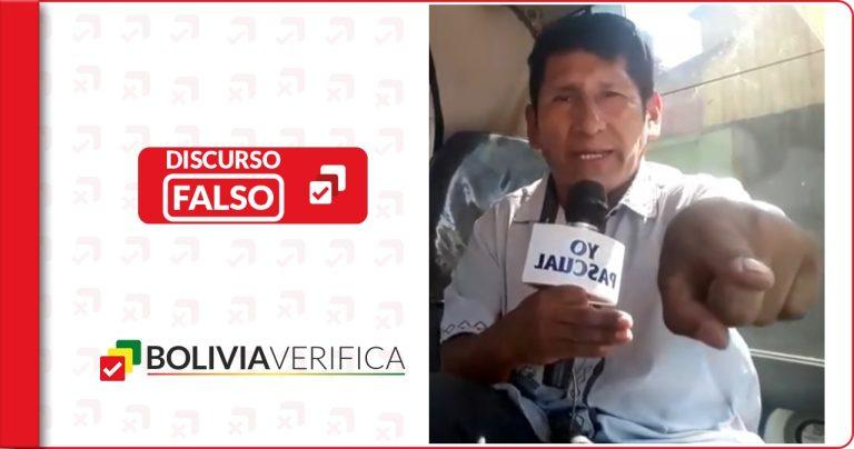Oruro: En la UTO no están obligando a los universitarios a vacunarse como indica Pascual Mamani